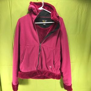 Women's Mountain Hardware Fleece Jacket Size Med